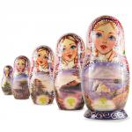 Nested Dolls. Nature set (5pcs) 104172