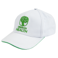 A baseball cap with Siberian Health logo (color: white)