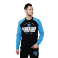 Siberian Super Team sweatshirt for men (color: dark blue; size: L)