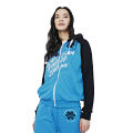 Sweatshirt for women (color: blue, size: S)