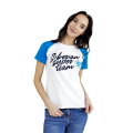 Siberian Super Team T-shirt for women (color: white, size: S)