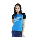 Siberian Super Team T-shirt for women (color: blue, size: S)
