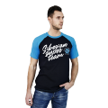 Siberian Super Team T-shirt for men (color: blue, size: L)