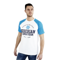 Siberian Super Team CLASSIC T-shirt for men (color: white, size: M)