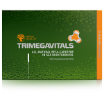 Food Supplement Trimegavitals. All-Natural Beta Carotene in Sea Buckthorn Oil, 30 capsules 500060