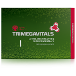 Food Supplement Trimegavitals. Lutein and Zeaxanthin. Concentrate, 30 capsules 500102